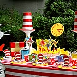 Dr. Seuss Party Table