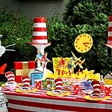 Dr. Seuss Party Table