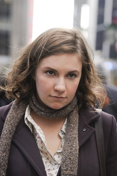 Lena Dunham in Girls.