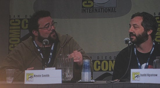 EW's Filmmakers Panel With Smith, Apatow, Snyder and Miller