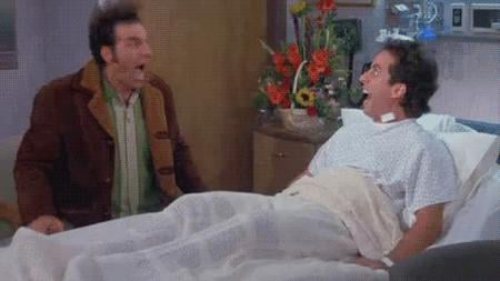 When Jerry and Kramer Scream in the Hospital