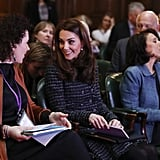 Kate Middleton Visits Mental Health Conference February 2019