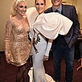 Gwen Stefani, Celine Dion, and Blake Shelton
