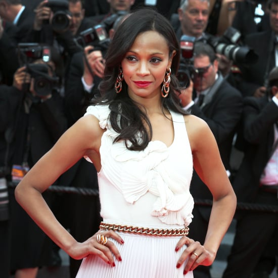 Zoe Saldana Red Carpet Dresses and Fashion Pictures