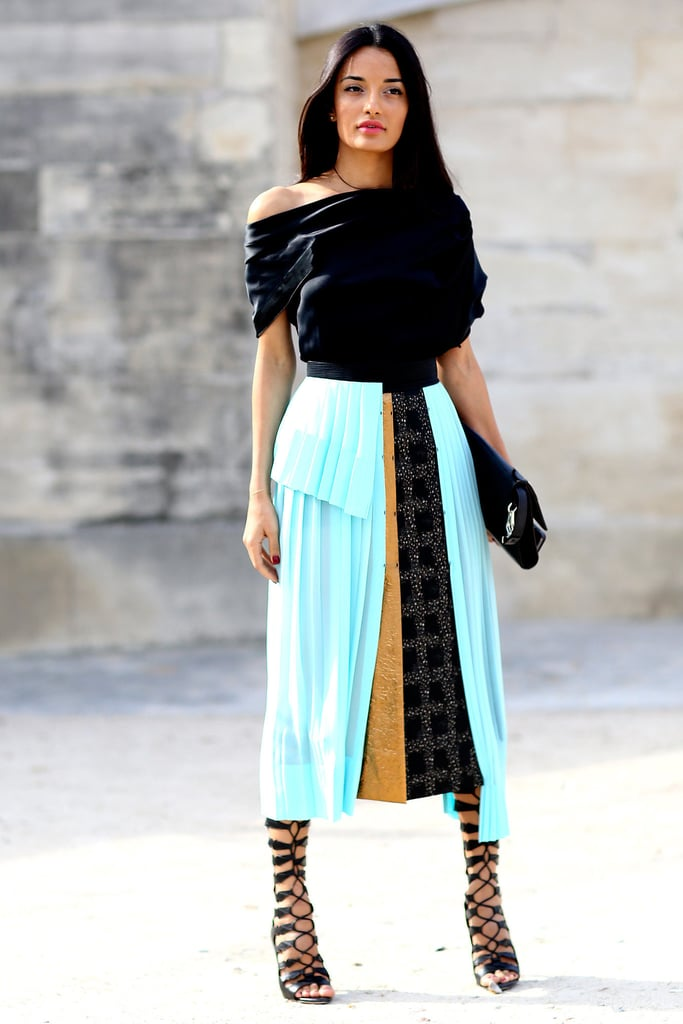 Street Style Trends At Fashion Week Spring 2015 Popsugar Fashion