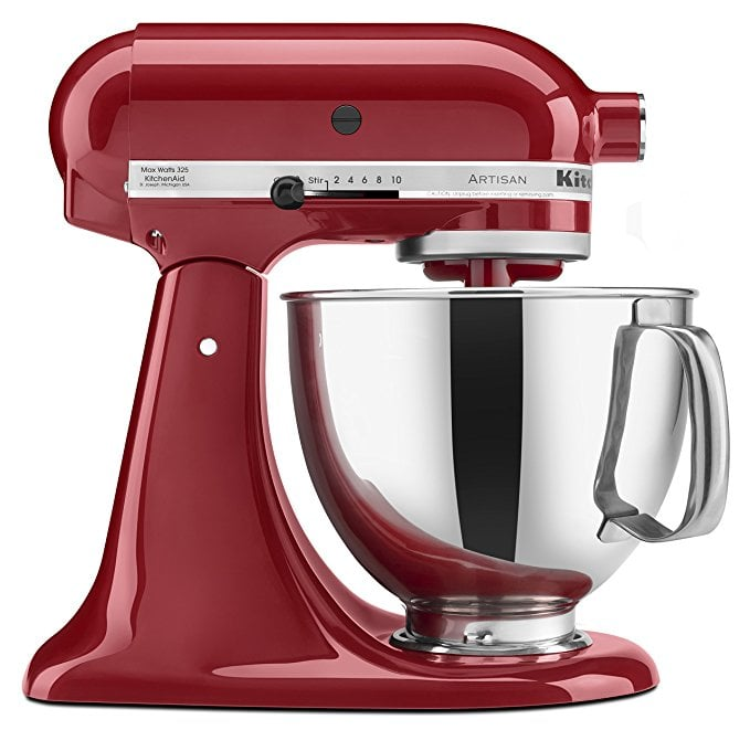 Kitchenaid Artisan Tilt Head Stand Mixer With Pouring Shield Best Wedding Gifts From Amazon