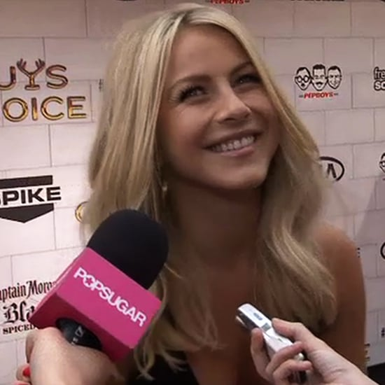 Julianne Hough Talking About Tom Cruise at Guys' Choice Awards (Video)
