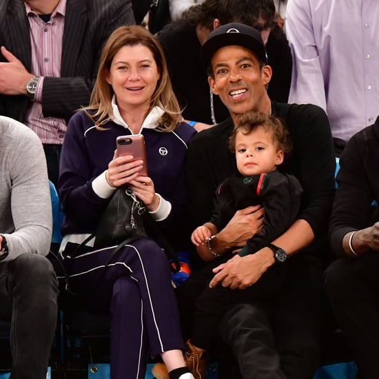 Ellen Pompeo and Chris Ivery at Knicks Game November 2018