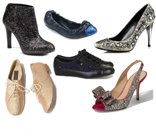 Sequin Sparkly Shoes For the Holidays
