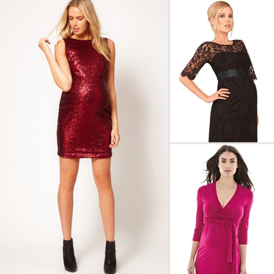 Va-Va-Voom! Valentine's Day Date Night Dresses For Moms-to-Be