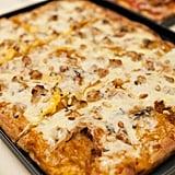 Pumpkin Pizza With Italian Ham, Rosemary, and Pine Nuts