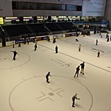 Ice Skate at the Dubai Mall