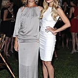 Lauren Conrad in white at a Lucky magazine event.