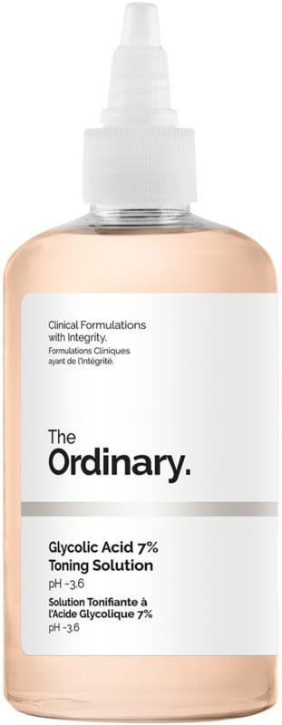 The Ordinary's Glycolic Acid Toning Solution