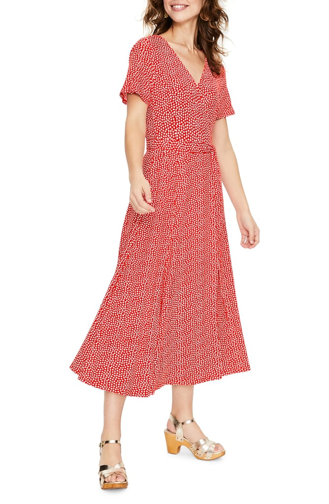 Boden Cassia Jersey Faux Wrap Dress