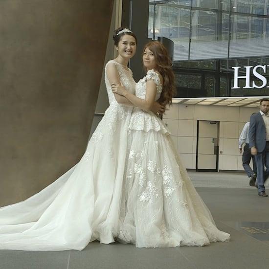 Lesbian HSBC Wedding