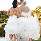Two Brides Florida Wedding