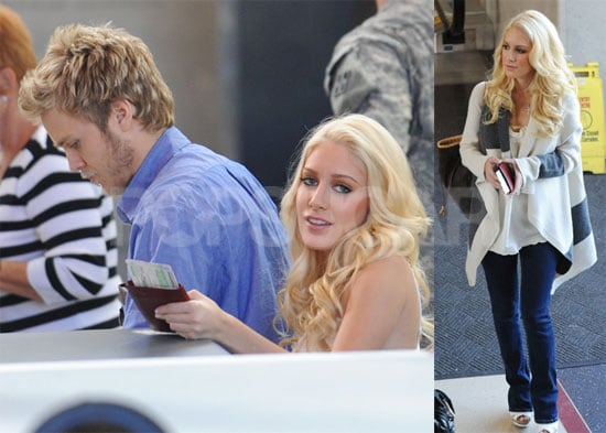 Spencer and Heidi at LAX