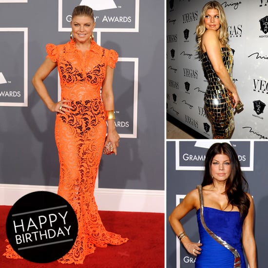 Pictures of Fergie's Red Carpet Style