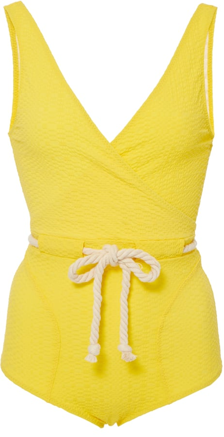 This Lisa Marie Fernandez Yasmin Drawstring One Piece ($445) is utterly adorable.