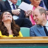 Will and Kate's Wimbledon Date