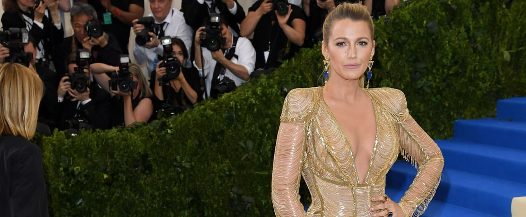 "Blake Lively Reveals Her 2018 Met Gala Dress Took ""Over 600 Hours"" to Make and More Details"