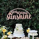 Sunshine-Themed Cake