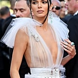 Kendall Jenner Arriving on the Red Carpet at Cannes Film Festival 2018