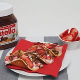 Recipe: Pancake Tacos With Nutella