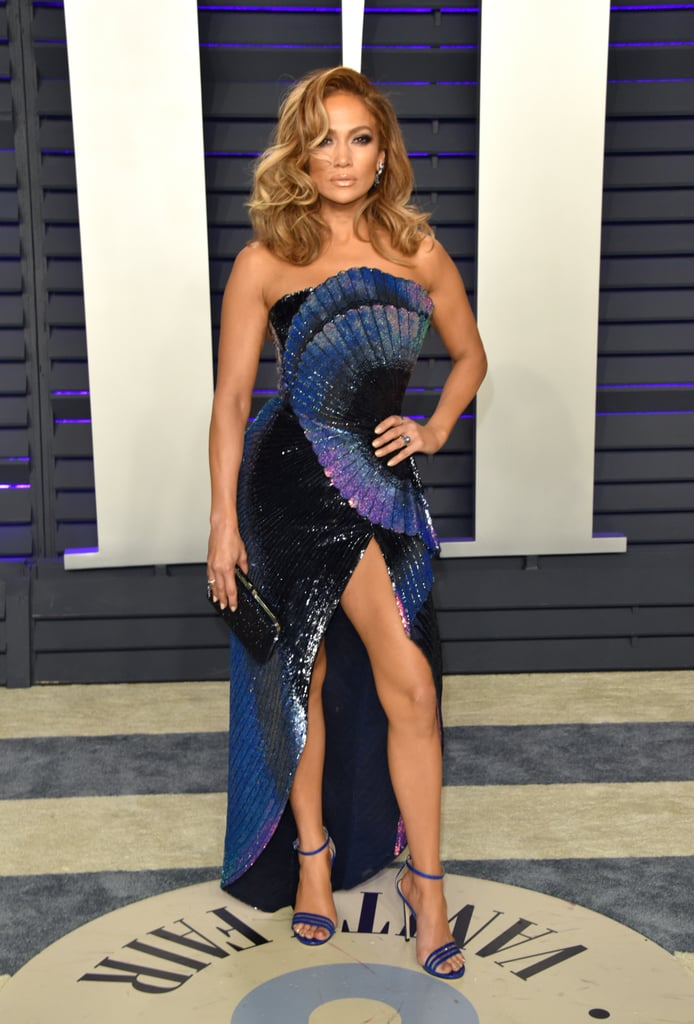 J Lo's Oscars Afterparty Dress Is Extremely Sexy — Excuse Me as I Catch My Breath