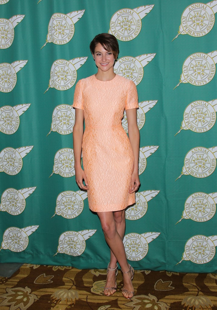 Shailene at the Annual Publicists Awards Luncheon