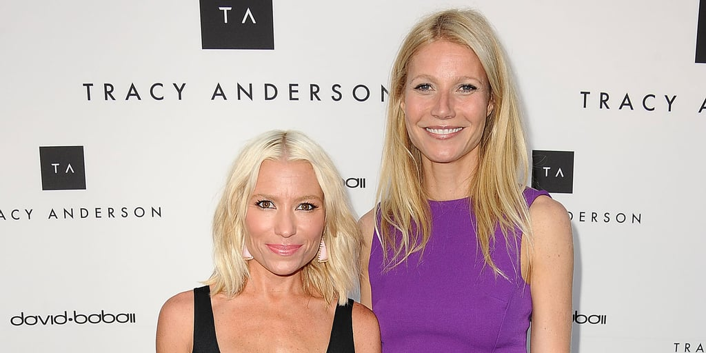 Gwyneth Paltrow & Kim Kardashian; Trainer Tracy Anderson