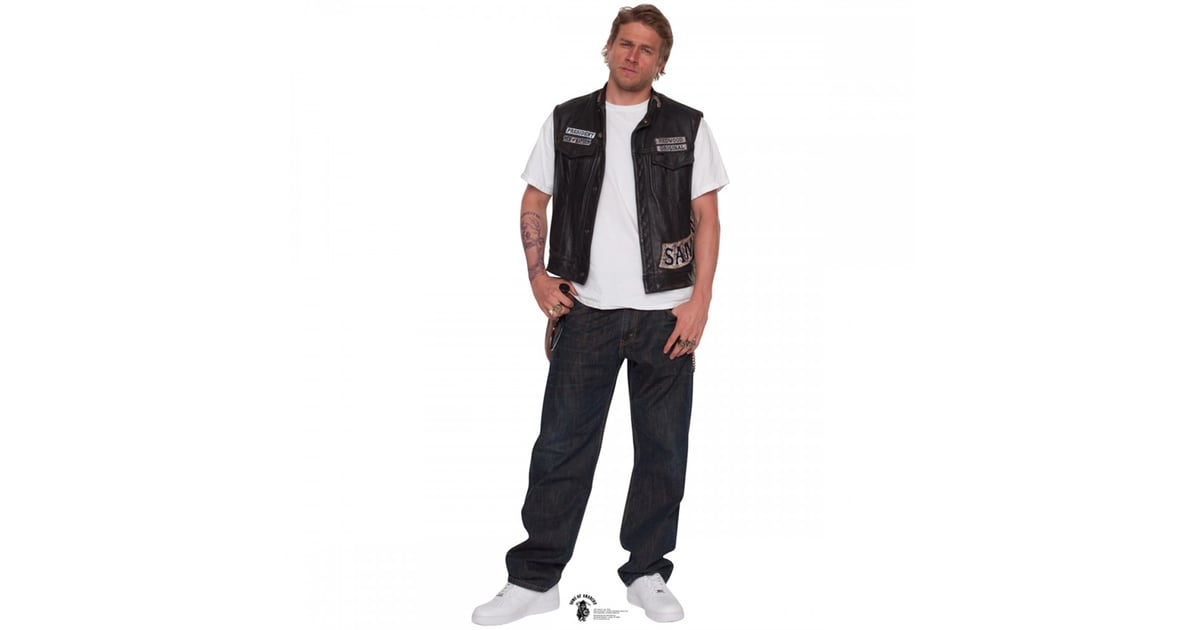 White Stand Up Fans : Jax teller cardboard stand up gifts for charlie
