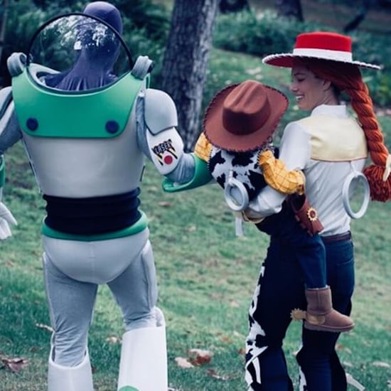 Justin Timberlake and Jessica Biel Toy Story Costume 2017