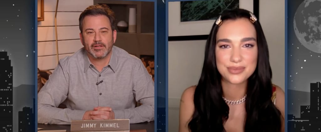 Dua Lipa Responds to Pregnancy Rumors on Jimmy Kimmel Live