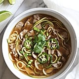 Whole30: Asian Beef Zoodle Soup