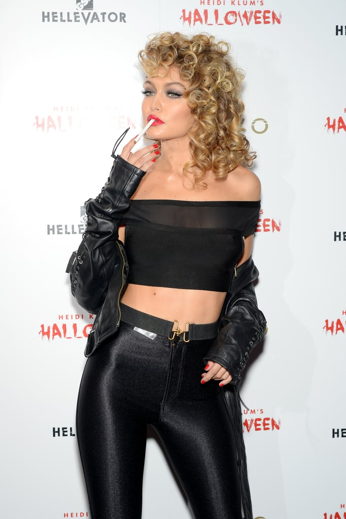 Gigi Hadid as Sandy From Grease  sc 1 st  POPSUGAR Middle East & Gigi Hadid as Sandy From Grease | Pop Culture Costume Ideas ...
