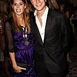 Princess Beatrice with boyfriend Dave Clark.