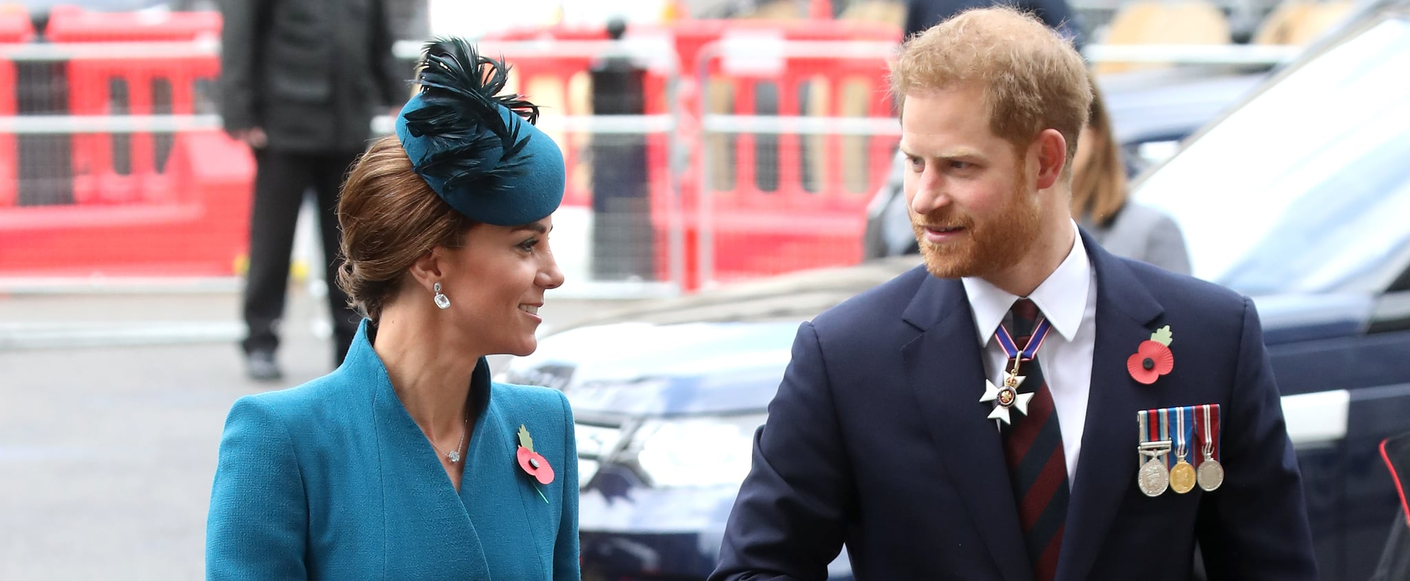 Prince Harry and Kate Middleton at Anzac Day Service 2019