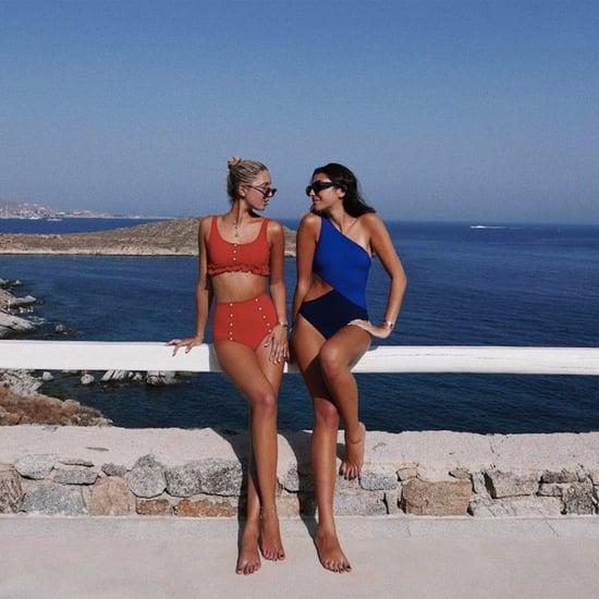 Princess Olympia of Greece's Lisa Marie Fernandez Bikini