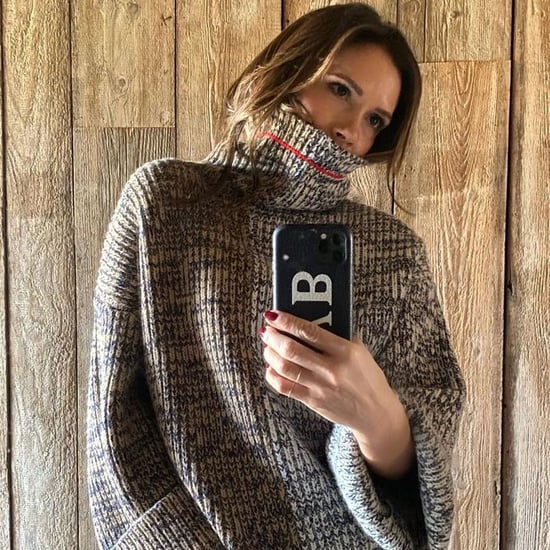 Victoria Beckham Wearing a Knit Turtleneck on Instagram 2020