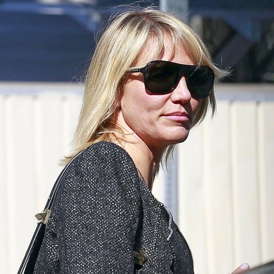 Cameron Diaz Shorter Hair Pictures in LA