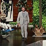 Photos of Liev on The Ellen DeGeneres Show