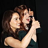 Emilia Clarke and Rose Leslie Have Such a Cute Friendship, You'll Want to Be Their Third Wheel