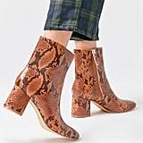 UO Alana Snakeskin Boots