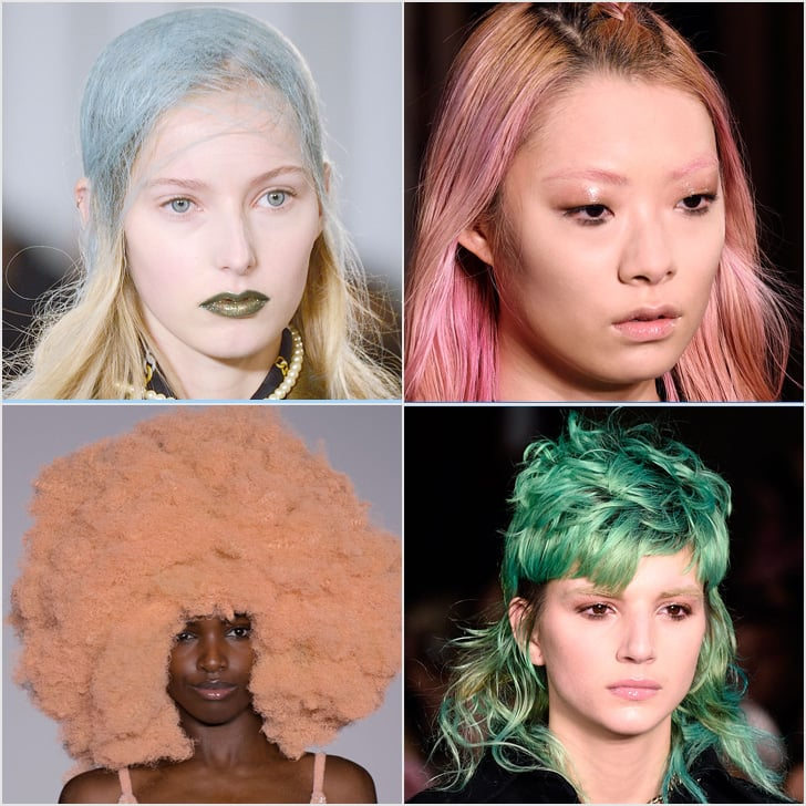 Rainbow Hair at Fashion Week | Fall 2016