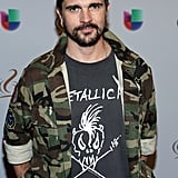 When Juanes Wore a Metallica T-Shirt on the Premio Lo Nuestro Red Carpet