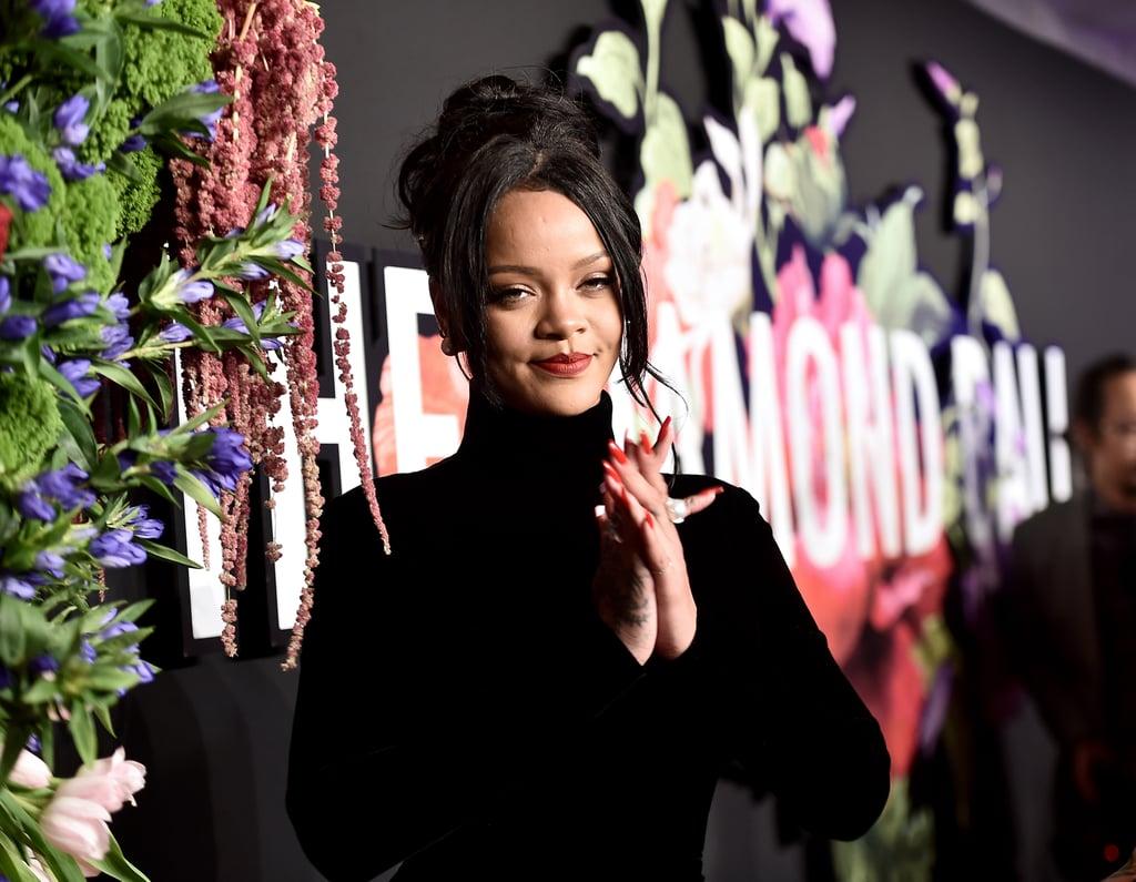 Rihanna's Red Nail Polish Color