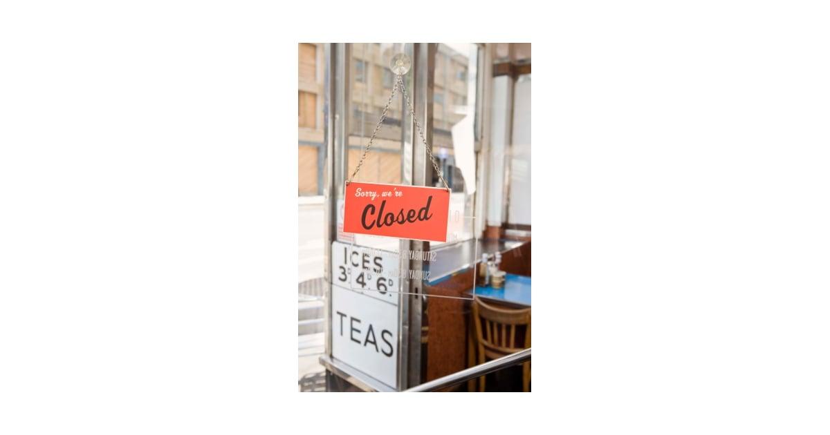 Kitchen Nightmares Closures