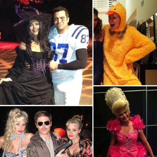 Celebrities in Halloween Costumes Pictures